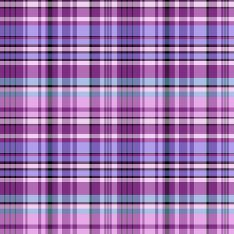 Custom Madras Plaid 2 fabric by eclectic_house on Spoonflower - custom fabric