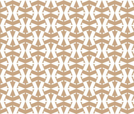 Pointing out my Hourglass Figure in Sand fabric by eclectic_house on Spoonflower - custom fabric