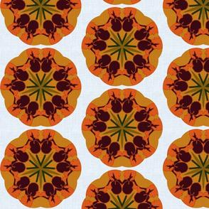 Iris Garden Kaleidoscope
