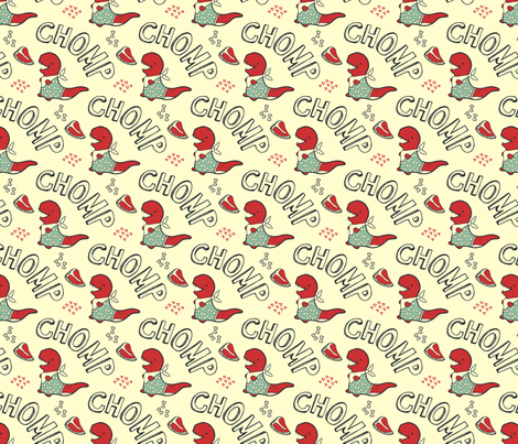 Meatlovers  fabric by limegreenpalace on Spoonflower - custom fabric