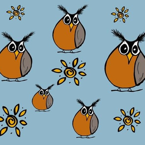 Roly Poly Robins
