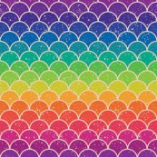 Rainbow Glitter Scales Wallpaper