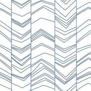 Blue/White seismograph