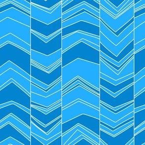 Blue/Blue Seismograph