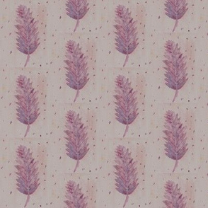 Painted Feathers - Pink