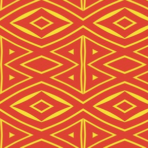 Tribal Red and Yellow 2