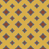 Diamond Print in Three Colors