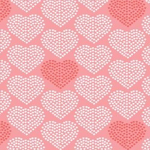 Delicate Heart - Love Valentine's Day Pink