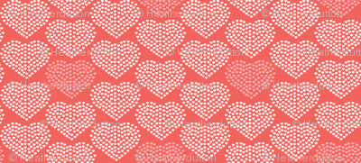 Delicate Heart - Love Valentine's Day Red