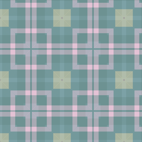 Plaid 21 Coordinate 3 fabric by bahrsteads on Spoonflower - custom fabric