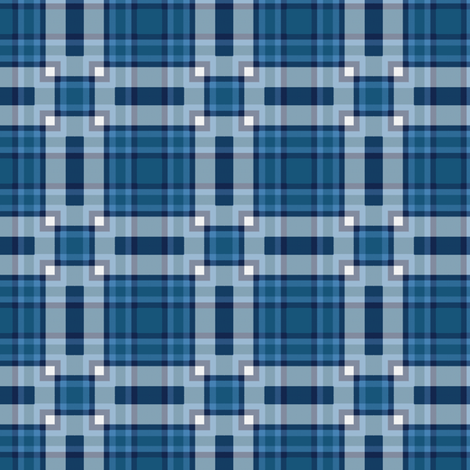 Plaid 32 Coordinate 1 fabric by bahrsteads on Spoonflower - custom fabric