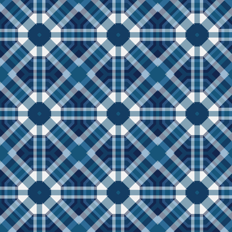 Plaid 32 Coordinate 3 fabric by bahrsteads on Spoonflower - custom fabric