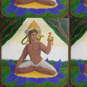 Dionysus on the Mystic Purple Lotus