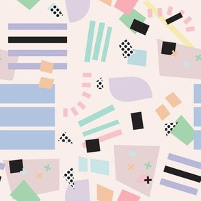 Postmodern Pastel Palette