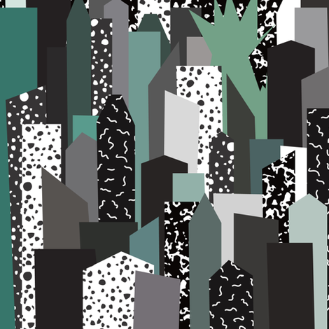 Manhattan '86 fabric by elliottdesignfactory on Spoonflower - custom fabric