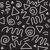 Postmodern Batik Doodle