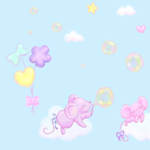 Bubble Balloon Sky