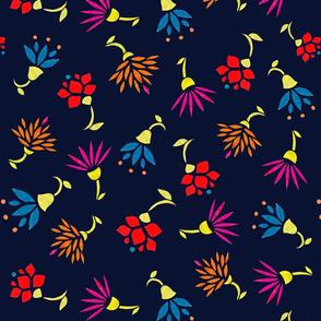 Folk flowers 1