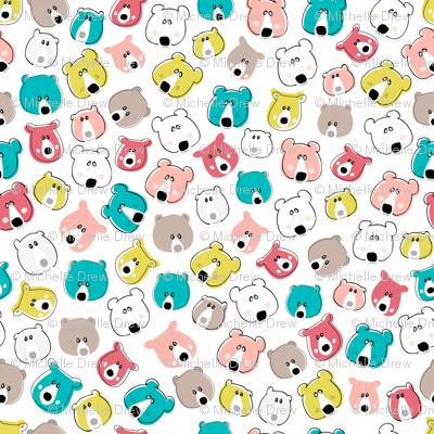 Happy Days Little Bears - Bright