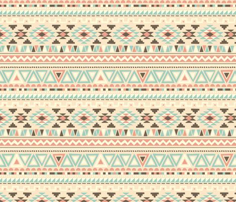 Boho Blue fabric by kaeselotti on Spoonflower - custom fabric
