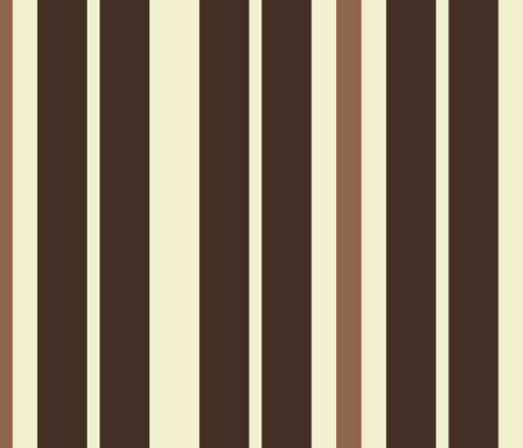 Early September Stripes 3 fabric by anniedeb on Spoonflower - custom fabric