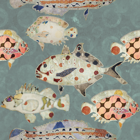 reef  fabric by alphabetsoup on Spoonflower - custom fabric