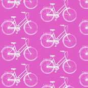 Antique Bikes // Pink