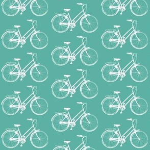Retro Bicycles // Aqua