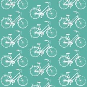 Retro Bicycles // Aqua