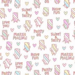 Funny marshmallow