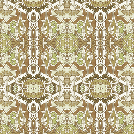 When the Khaki Fairy Comes fabric by edsel2084 on Spoonflower - custom fabric