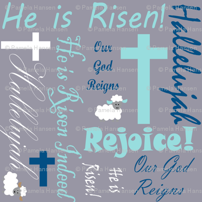 He is risen blues
