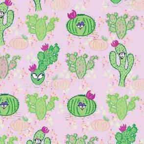 Cactus Ladies Lavender
