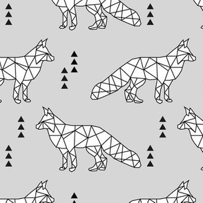 geometric fox // fog