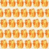 meow machine - orange/yellow