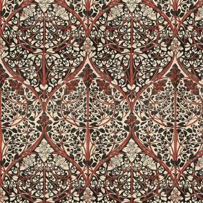 florid Art Nouveau design