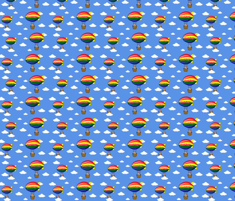 Chucky Good Guys Zeppelin fabric by w855173w on Spoonflower - custom fabric