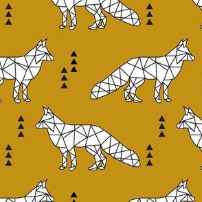 geometric fox // myan