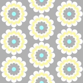 Striped Flower Yellow