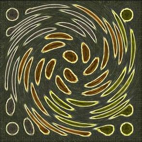 Swirling Spots