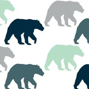 Multi Woodland Bear