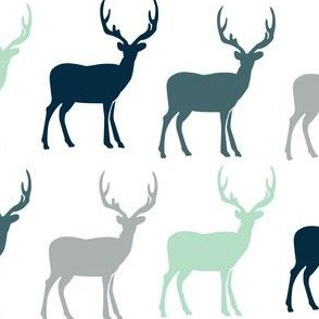 Multi Rustic Deer