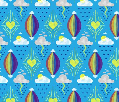 Season of Love fabric by katyluxionart on Spoonflower - custom fabric