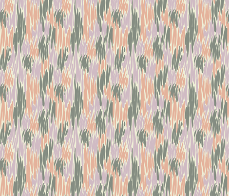 Tiger Hibiscus fabric by anniewilsey on Spoonflower - custom fabric