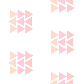 Mod Pink Triangles