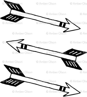 Mod black arrows