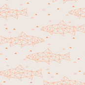 Geo Trout | Tangerine