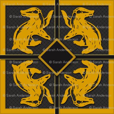 Badger House  Pattern