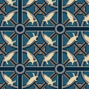 Eagle or Raven House  Pattern