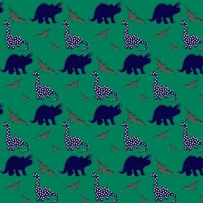dinosaur green